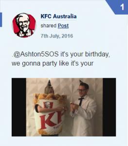 Twitter KFC 5SoS