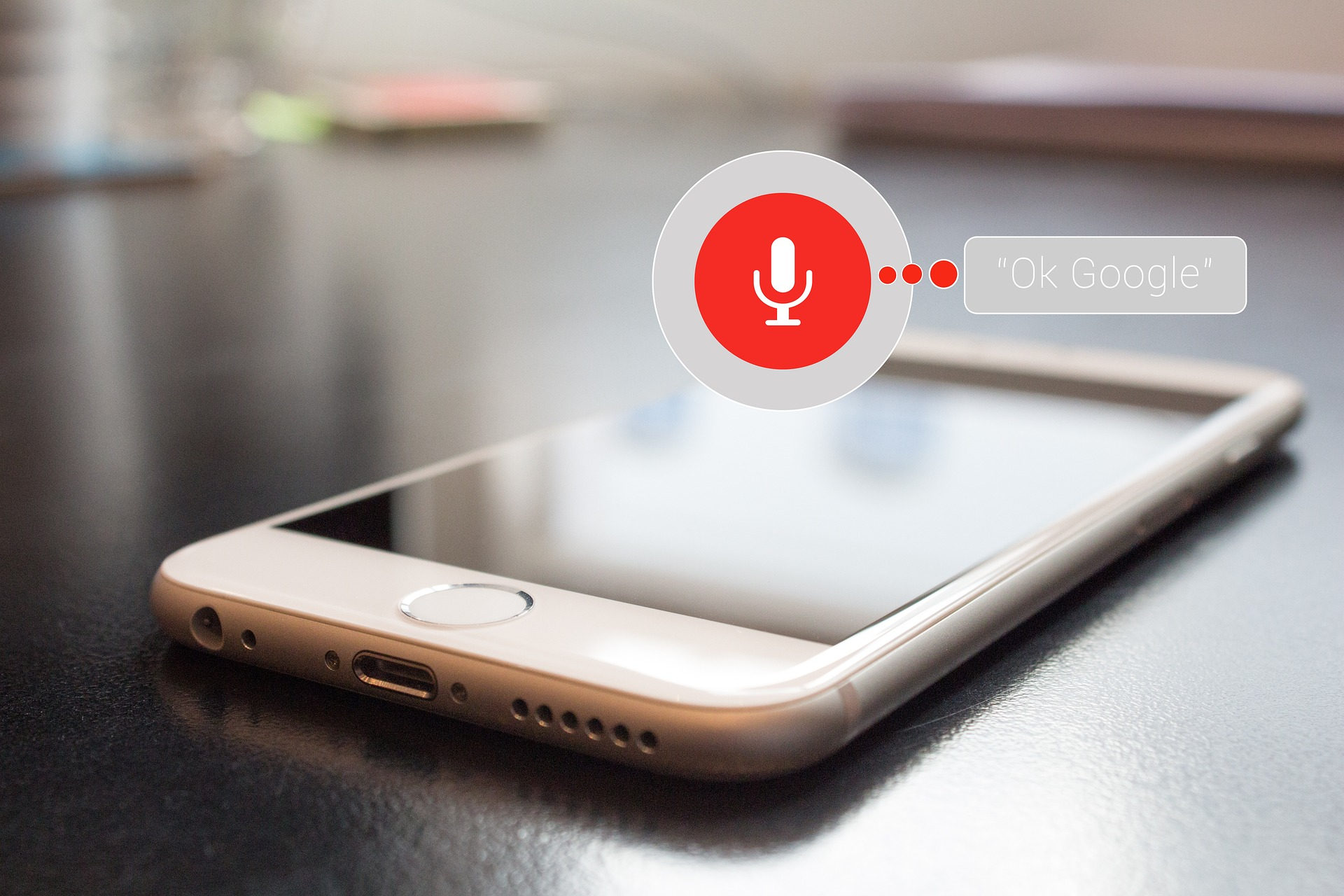 Voice search tips