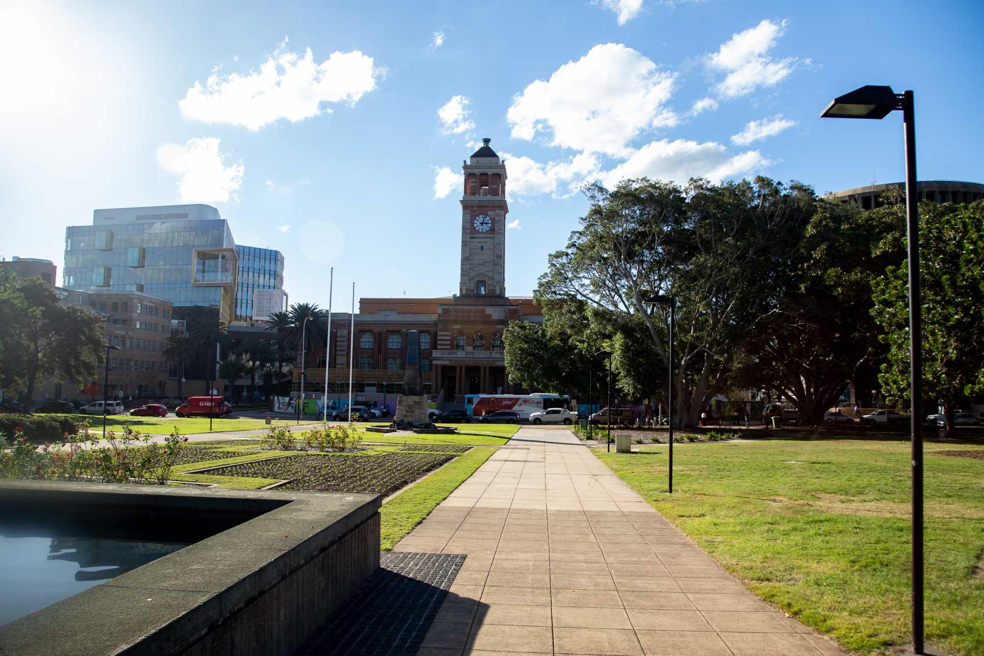 The city of Newcastle, Australia